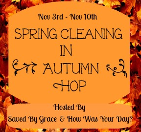 autumnhopbutton1 Spring Cleaning in Autumn Giveaway Hop   Signups Open