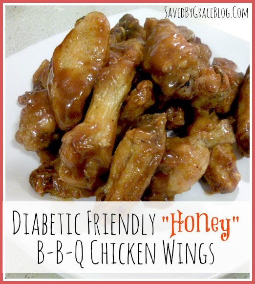 Diabetic Friendly Honey BBQ Wings