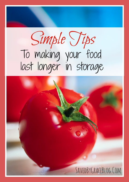 Tips For Making Your Food Last Longer