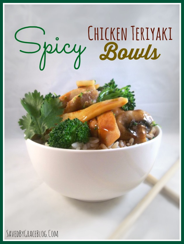 Spicy Chicken Teriyaki Bowl
