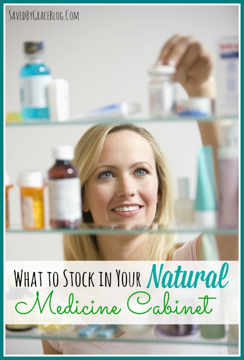 what to stock in your natural medicine cabinet