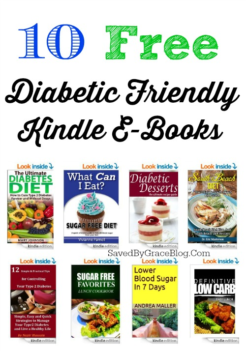 10 free Diabetic Friendly kindle ebooks
