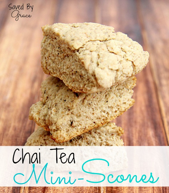 Chai Tea Mini-Scones