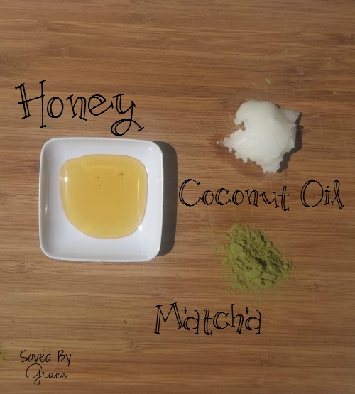 honey matcha mask ingredients