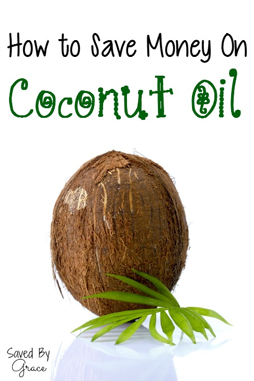 How to save money on coconut oil