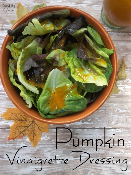 Pumpkin Vinaigrette Dressing Recipe