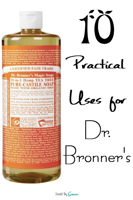 10 practical uses for dr bronner s soap saved by grace. Black Bedroom Furniture Sets. Home Design Ideas