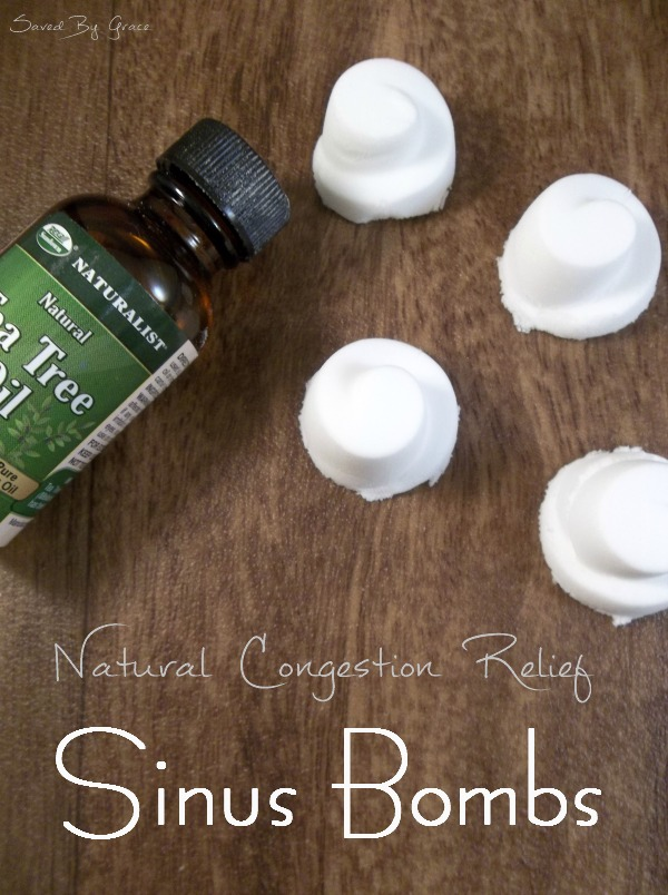 Natural Sinus Relief Sinus Bombs