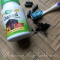 Brushing Teeth with Activated Charcoal
