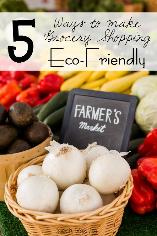 5 Ways to Make Grocery Shopping More Eco Friendly