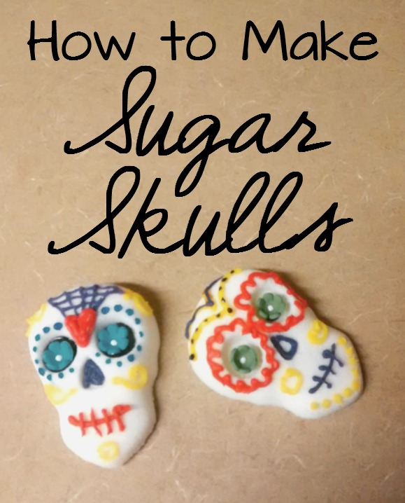 How to Make Sugar Skulls- find out why sugar skulls are made, how to make sugar skulls and some tips for decorating sugar skulls for the Day of the Dead.