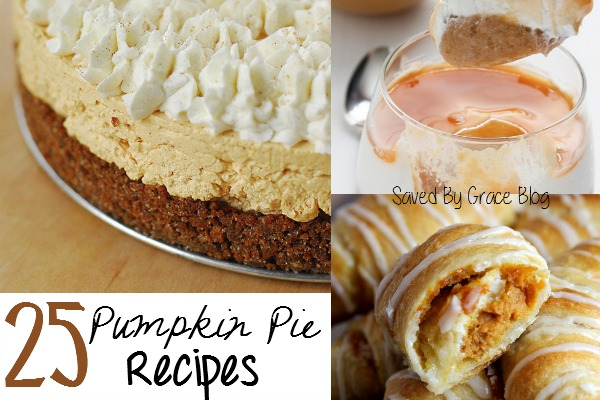 Pumpkin Pie Recipe Roundup