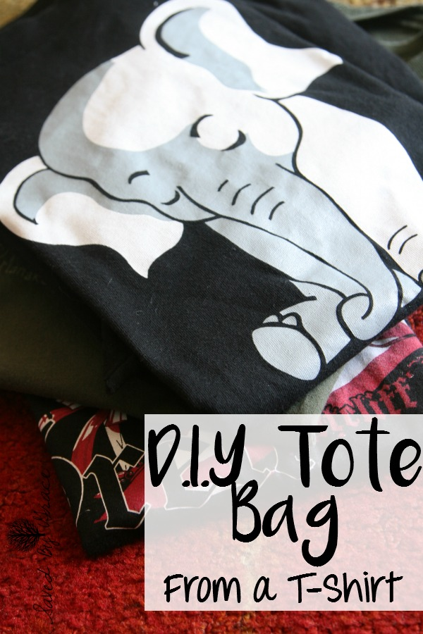 DIY Tote Bag from a T Shirt