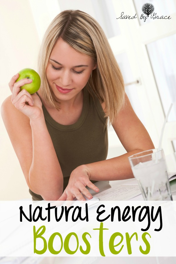 Natural Energy Boosters- If you are feeling sluggish mid-afternoon, here are some natural ways to get more energy that don't include a cup of coffee.