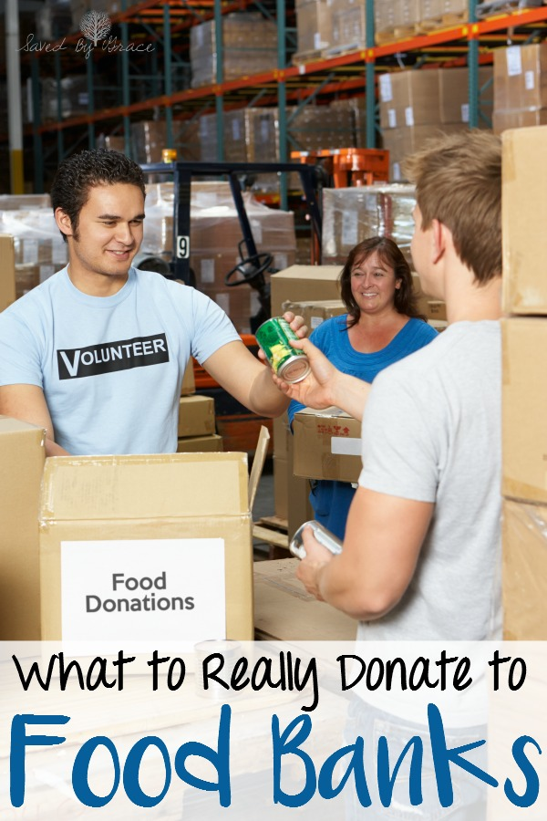 What Food Banks Really Need- Thinking of donating to a food bank? Here are some items food banks are in desperate need of that can really help those they serve.