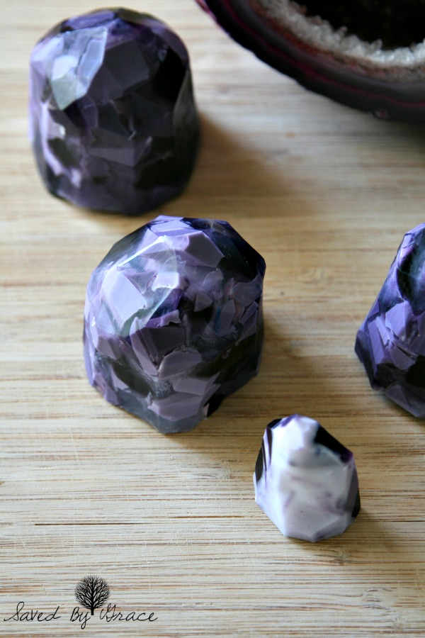 how to make gem soap at home