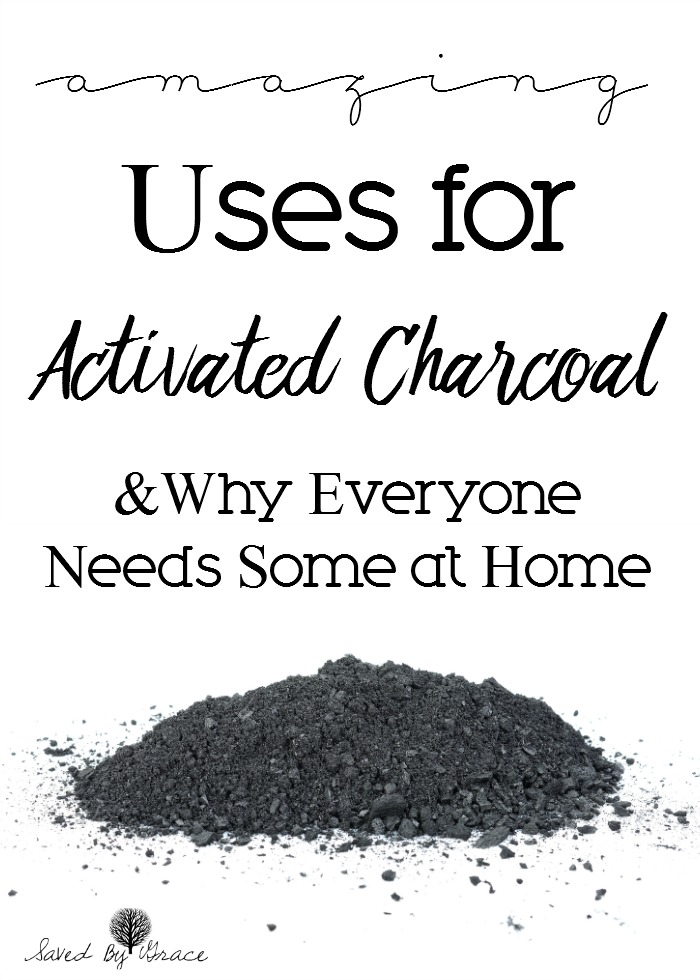 Ways to Use Activated Charcoal at Home- Activated charcoal is something everyone needs at home for health, beauty and home and here's why.