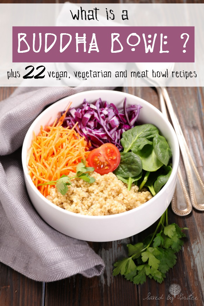 What is a Buddha Bowl plus 22 Buddha Bowl Recipes - Buddha Bowls are a great way to get a hardy meal and lots of nutrients in one bowl.
