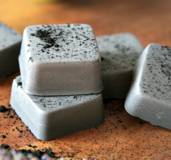 DIY Easy Mini Goat's Milk Charcoal Detox Soap