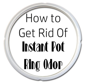 How to Get Rid of Instant Pot Ring Odor- My one and only complaint- ring odor! Here's how you can get rid of Instant Pot ring odor if you deal with it, too!