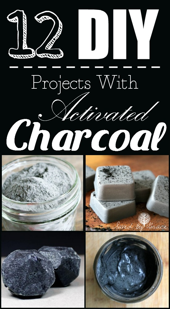 DIYs to Make with Activated Charcoal- Activated Charcoal is a trending beauty ingredient and for good reason! Make some of your own DIYs with activated charcoal!