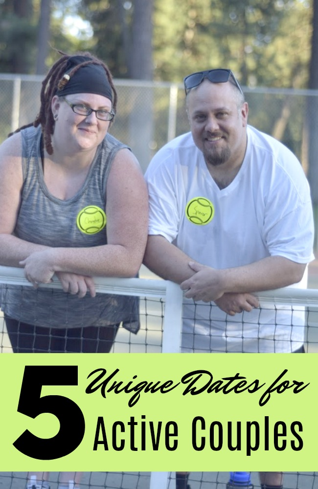 #AD 5 Unique Date Ideas for Active Couples- Getting bored with dinner and a movie and want to change things up? Here's 5 unique date night ideas to start!