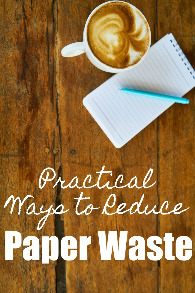 Tips for Reducing Paper Waste- It's easier than ever to waste less paper. Check out these tips for reducing paper waste and live with less clutter and greener, too.